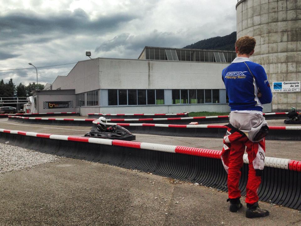cours de karting près de Genève